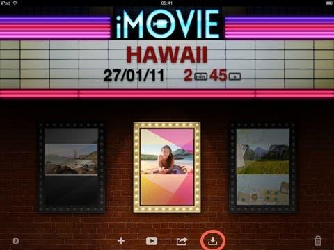 Truco de la semana: Pasar un proyecto de iMovie de iPhone a iPad