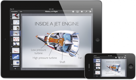 iWork ahora disponible para iPhone e iPod touch