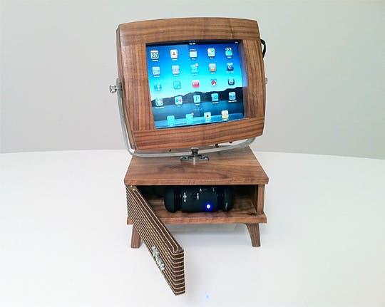 V-Luxe transforma tu iPad en una TV de los años 50
