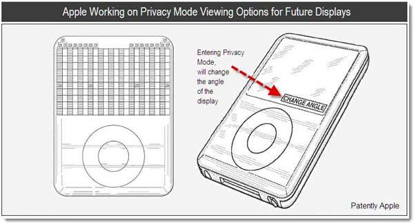 Nueva patente de Apple: controlar la privacidad de las pantallas de sus dispositivos