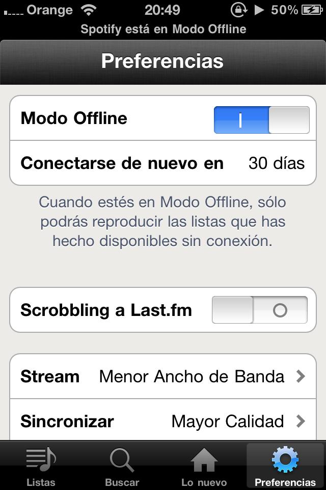 Spotify Offline