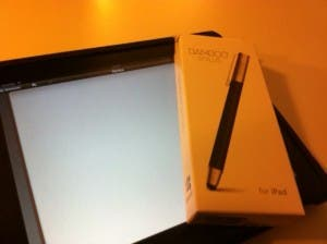 "Primer contacto con ""Wacom Bamboo Stylus for iPad"""
