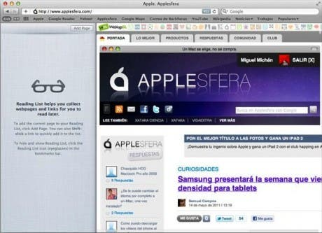 Mac OS X Lion, más cambios estéticos