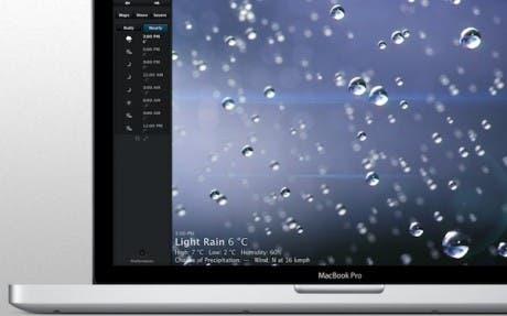 Weather HD hace su aparición en Mac OS X