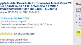 BestBuy no manda más MacBook Air