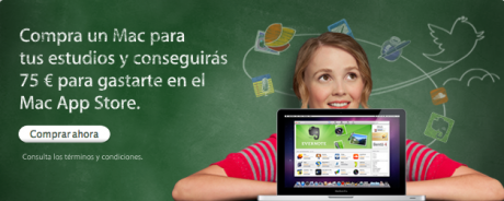 """Apple lanza la promoción """"Vuelta al cole"""""""