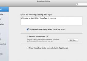 OSX Lion: Accesibilidad y VoiceOver