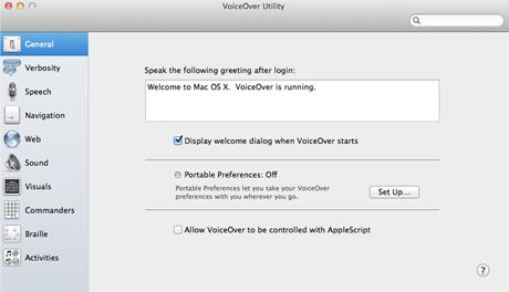 OS X Lion: Accesibilidad y VoiceOver