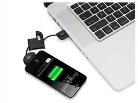 Carga y sincroniza tu iDevice con (lo que parece ser) el mando de tu coche
