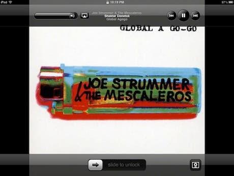 Imágenes de la nueva aplicación Música de iOS 5 en el iPad