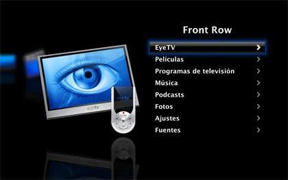 PyeTV, integra TDT en tu Front Row