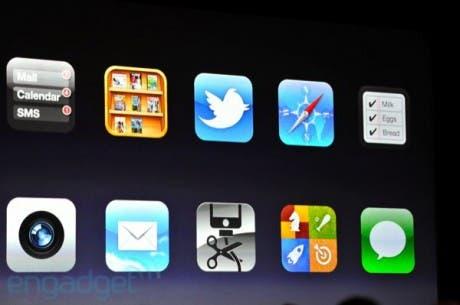 Así será el nuevo iOS5