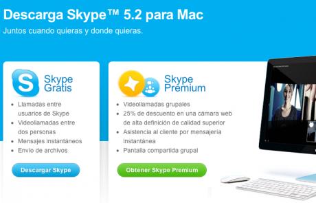Skype 5.2 para Mac con compartir pantalla en grupo