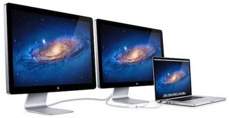 Los nuevos Cinema Display pasan a llamarse Thunderbolt Display