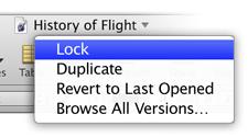OSX Lion puede bloquear documentos
