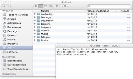 Algunos trucos para empezar en OS X Lion, parte I