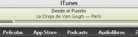 iTunes Store con previsualizaciones musicales de 90 segundos