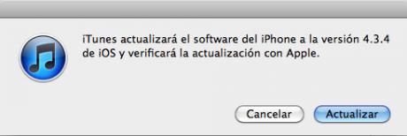 iOS 4.3.4 disponible a através de iTunes
