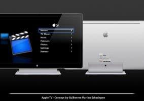 apple tv concepto