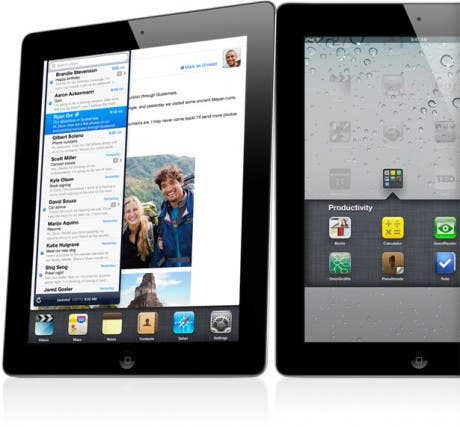 iPad con Retina Display en 2012