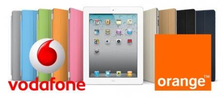 El iPad 2 subvencionado por Vodafone y Orange