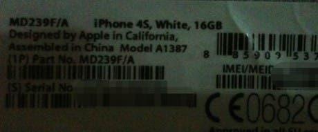Se filtran fotografias de la caja del iPhone 4S e incluso un vídeo del nuevo terminal