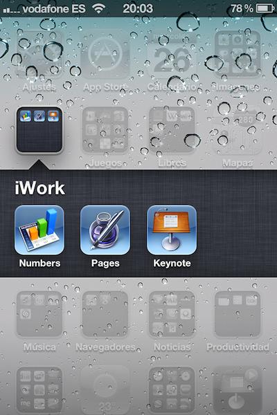 Diario de una Switcher: iWork se renueva con iOS 5