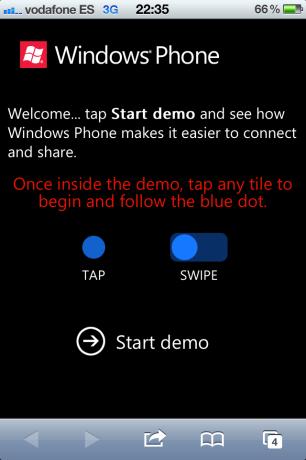 ¿Windows Phone en el iPhone?