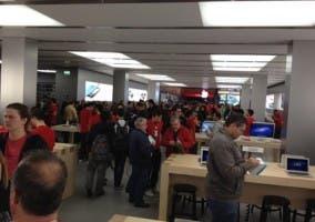 Inauguración de la Apple Store de Marbella