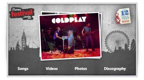 12 días 12 regalos: Coldplay