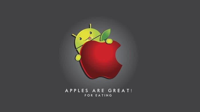 Batalla iOS contra Android