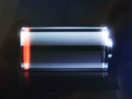 Apple desarrolla una batería que durará semanas