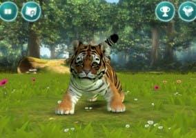 Pantallazo de la app Kinectimals para iOS