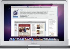 Las aplicaciones en Mac