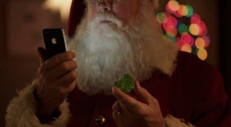 Siri y Santa Claus protagonizan el nuevo anuncio de Apple