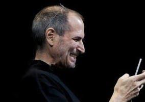 Steve Jobs usando Facetime