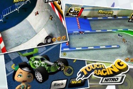 Portada del juego Touch Racing