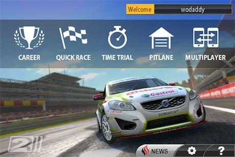 Real Racing 2, gráficos de consola en iOS