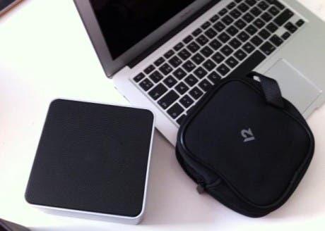 BassJump 2 con funda MacBook Air