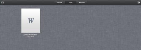 iWork en iCloud