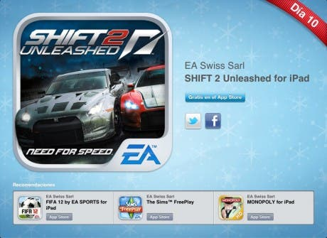 12 días 12 regalos: Shift 2 Unleashed