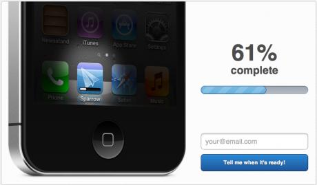 Novedades de la aplicación de Sparrow para iOS: su desarrollo va viento en popa