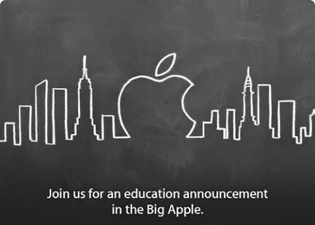Anunciado evento de Apple relacionado con la educación