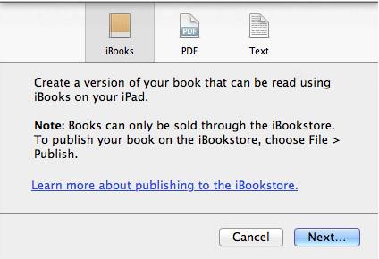 iBooks Author, gratis pero rentable