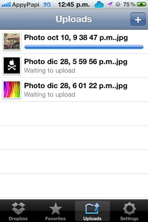 Contenido en la nube con iOS - I Dropbox