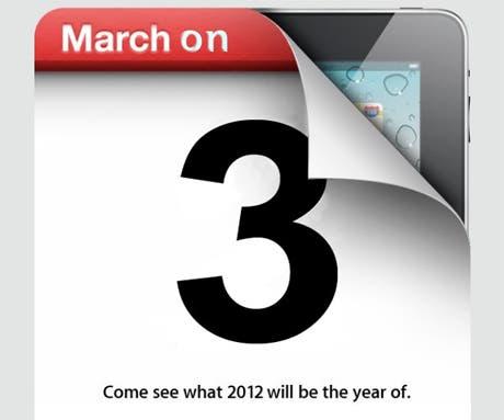 El iPad 3 estaría a la venta en Marzo