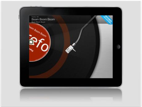 Vinyllove para iPad