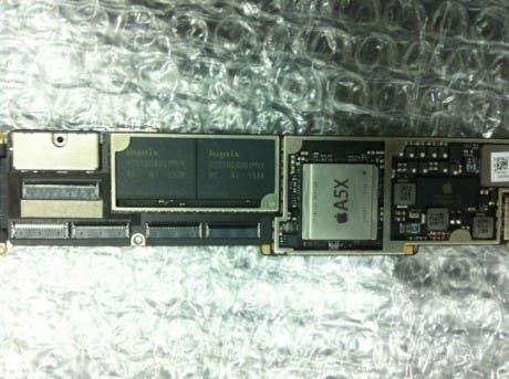 Placa base del posible iPad 3 con el procesador A5X