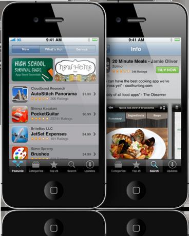 App Store en el iPhone