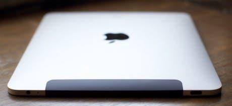 Imagen de un iPad de primera generación visto desde arriba